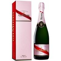 Шампанское Франции Mumm Rose Brut / Мумм Розе Брют, 12%, Роз, Брют, 0.75 л (под.уп.) [3043700114339]