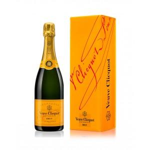 Шампанское Франции Veuve Clicquot Ponsardin Brut / Вдова Клико Понсардин Брют, Бел, Брют, 0.75 л (под.уп.) [3049614083891]
