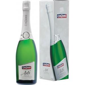 Вино игристое Италии Cinzano Asti / Чинзано Асти, Бел, Сл, 0.75 л [8000020000280]