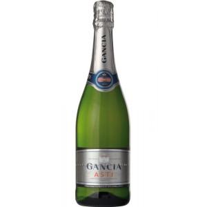 Вино игристое Италии Gancia Asti, Ганча, 7.5%, Игристое, Бел, сл., 1.5 л [8000420410306]