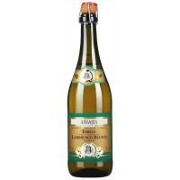 Вино искристое Италии Abbazia Lambrusco Bianco Frizzante, Emilia IGT, Бел, П/Сух, 0.75 л [8001592003846]