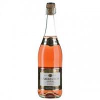 Вино искристое Италии Sant'Orsola Lambrusco Emilla, 7.5%, Кр, П/Сл, 0.75 л [8005415001576]