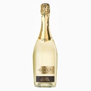 Вино игристое Италии Casa Defra Prosecco Spumante Oro / Каза Дефра Просекко Спуманте Оро, Бел, Сух, 0.75 л [8008900005486]
