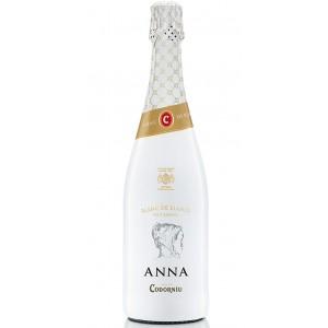 Вино игристое Испании Anna de Codorniu Blanc de Blancs Brut / Анна де Кодорнью Блан де Блан Брют, Бел, Сух, 0.75 л [8410013009761]