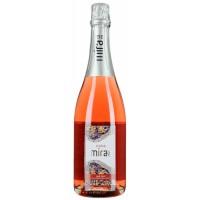 Вино игристое Испании Mirame Cava, 11.5%, Роз, Брют, 0.75 л [8426998267522]