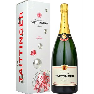 Вино игристое Франции Taittinger Reserve Бел, Брют 0.75 л [3016570001054]