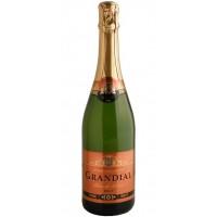Вино игристое Франции Les Grands Chais de France Grandial Brut Blanc de Blancs, Бел, Сух, 0.75 л 11% [3500610007750]