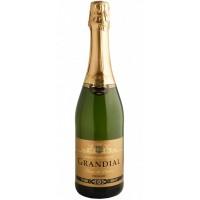Вино игристое Франции Les Grands Chais de France Grandial Demi Sec/ Ле Гран Ше де Франс Грандиаль Деми Сек, Бел, П/Сух, 0.75 л [3500610007767]