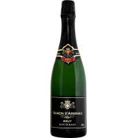 Вино игристое Франции Baron d'Arignac Brut / Барон д'Ариньяк Брют, 11%, Бел, Сух, 0.75 л [3500610033353]