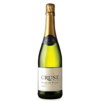 Вино игристое Франции Cruse Demi-Sec / Круз Полусухое, 11%, Бел, Сух, 0.75 л [3500610036668]