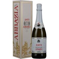 Вино игристое Италии Abbazia Asti / Аббрация Асти, Бел, Сл, 0.75 л [8001592000029]