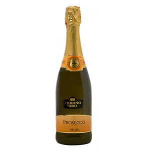 Вино игристое Италии Abbazia Prosecco Spumante / Аббация Просекко Спуманте, Бел, Сух, 0.75 л [8001592003624]
