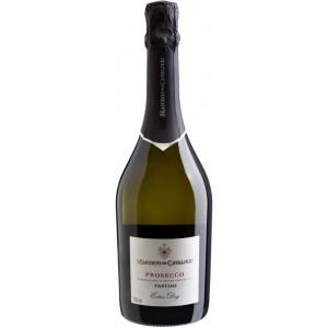 Вино игристое Италии Maschio dei Cavalieri Prosecco Extra Dry / Маскио дей Кавальери Просекко Экстра Драй, Бел, Сух, 0.75 л [8002550502333]