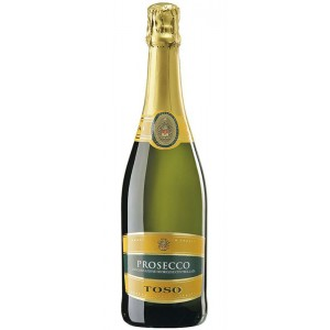Вино игристое Италии Toso Prosecco Spumante / Тосо Просекко Спуманте, Бел, Сух, 0.75 л [8002915002232]