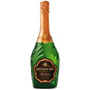 Вино игристое Италии Mondoro Prosecco / Мондоро Просекко, Бел, Сух, 0.75 л [8004160228603]