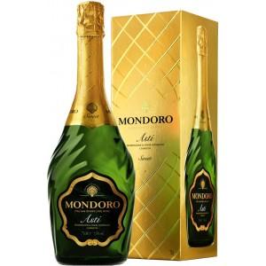 Вино игристое Италии Mondoro Asti / Мондоро Асти, Бел, Сл, 0.75 л (под.уп.) [8004160522305]