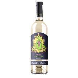 Вино Украины Инкерман Рислинг, Бел, П/Сух, 0.75 л 10-13% [4820003751893]