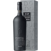 Портвейн Португалии Quinta do Portal 10 YO aged Tawny Port / Кинта до портал 10 ЕО эйджед Тауни Порт, Кр, Сл, 0.75 л [5604242000573]
