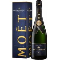 Шампанское Франции  Moet & Chandon Nectar Imperial / Моет Шандон Нектар Империал, Бел, П/Сух, 0.75 л (под.уп.) [3185370068441]