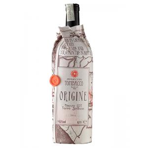 Вино Италии Origine Terre Siciliane, Tombacco / Ориджине Терре Сицилиане, белое, полусухое, 14.5%, 0.75 л [2000049526613]