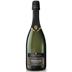 Вино игристое Италии Pirovano Prosecco Extra Dry / Пировано Просекко Экстра Драй, белое, сухое, 11%, 0.75 л [8000013026426]