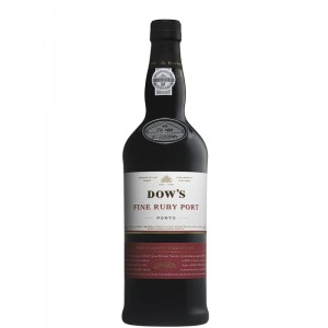 Портвейн Португалии Dow's, Fine Ruby / Доу'з, Файн Руби, красное, сладкое, 19%, 0.75 л [5010867220126]