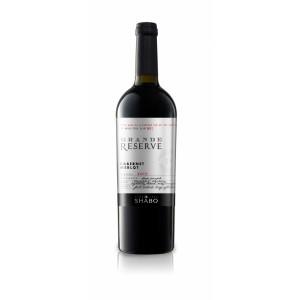 """Вино Украины Шабо """"Grande Reserve Shabo"""" Каберне-Мерло, красное, сухое, 14.0%, 0.75 л [4820070404272]"""