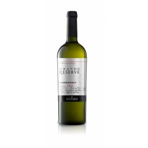 """Вино Украины Шабо """"Grande Reserve Shabo"""" Шардоне, белое, сухое, 14.0%, 0.75 л [4820070402933]"""