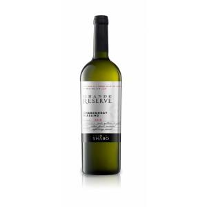 "Вино Украины Шабо ""Grande Reserve Shabo"" Шардоне-Рислинг, белое, сухое, 14.0%, 0.75 л [4820070404234]"