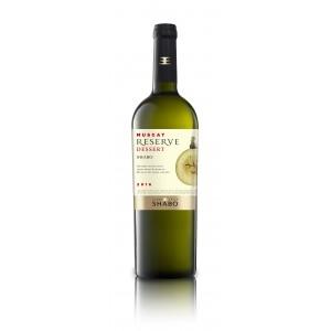 """Вино Украины Шабо """"Reserve Shabo"""" Мускатное, белое, десертное, 16.3%, 0.75 л [4820070405637]"""