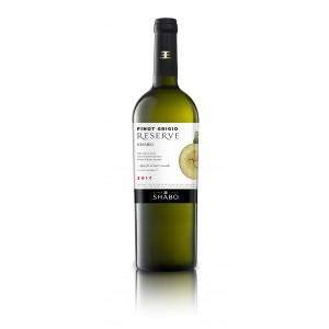 """Вино Украины Шабо """"Reserve Shabo"""" Пино Гриджио, белое, сухое, 12.0%, 0.75 л [4820070406122]"""