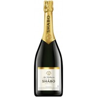 """Вино игристое Украины Шабо """"Shabo"""", белое, брют, 13.5%, 1.5 л [4820070404920]"""