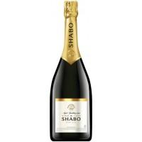 """Вино игристое Украины Шабо """"Shabo"""", белое, брют, 13.5%, 3.0 л [4820070404609]"""