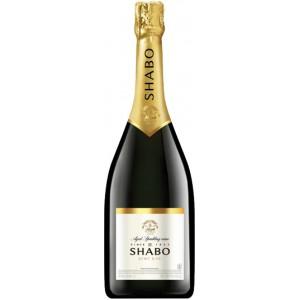 Вино игристое Украины  Shabo, белое, брют, 13.5%, 3 л [4820070404609]