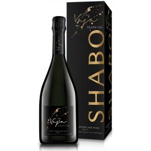 """Вино игристое Украины Шабо """"Vaja Grande Cru"""", белое, брют, 13.5%, 0.75 л [4820070405040]"""