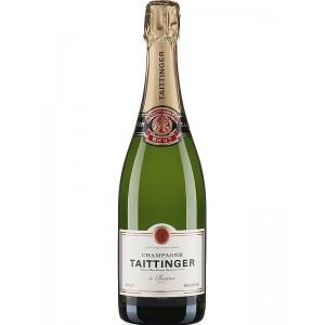 Шампанское Франции Taittinger Reserve Brut / Тэтэнже Резерв , белое, брют, 12.5% 0.75 л [3016570001030]