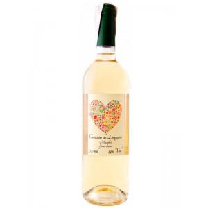 Вино Испании Сorazon de Longares Macabeo Dry 2015, Бел, Сух, 13%, 0.75 л [8424659105299]