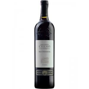 Вино США Western Cellars Zinfandel / Вестерн Селлар Зинфандель, Кр., Сух., 0.75 л [3263286352479]
