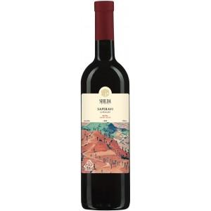 Вино Грузії Shilda Сапераві, Чер, Сух, 12.5%, 0.75 л [4860110430175]
