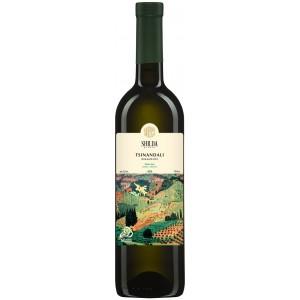 Вино Грузії Shilda Цинандалі, Біл, Сух, 12.5%, 0.75 л [4860110430182]