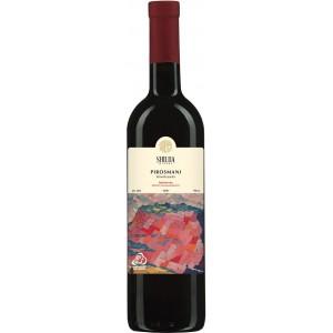Вино Грузії Shilda Піросмані, Чер, Н/сух, 12.5%, 0.75 л [4860110430489]
