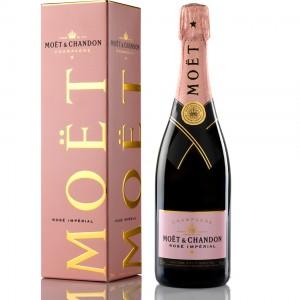 Шампанское Франции Moet & Chandon Roze Imperial / Моет Шандон Розе Империал, 12%, Роз, Сух, 0.75 (под.уп.) [3185370560662]