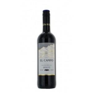 Вино Чили El Campo Merlo / Эль Кампо Мерло, Кр, Сух, 0.75 л [3263280102537]