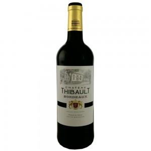 Вино Франции Chateau Thibault Bordeaux / Шато Тибо Бордо, Кр, Сух, 0.75 л [3272810303382]