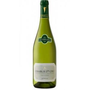 Вино Франции La Chablisienne Chablis Premier Cru Vaillons / Ля Шаблизьен Шабли Премьер Крю Вейон, Бел, Сух, 0.75 л [3332418000851]
