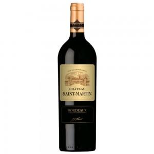 Вино Франции Chateau Saint-Martin Bordeaux / Шато Сен-Мартен Бордо, Кр, Сух, 0.75 л [3500610058745]