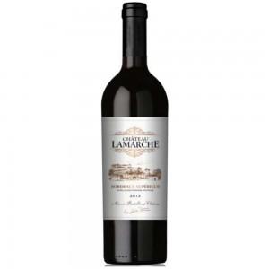 Вино Франции Chateau Lamarche Bordeaux Superioeur / Шато Ламарш Бордо Супериор, кр, сух, 0.75 л [3500610063176]