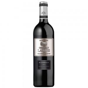 Вино Франции Chateau Laubes Grande Réserve Bordeaux / Шато Леб Резерва Бордо, Кр, Сух, 0.75 л [3500610087721]
