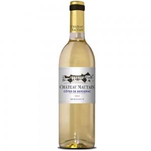 Вино Франции Chateau Mautain Cotes De Bergerac / Шато Маутин Кот Де Бержеак, Бел, Сл, 0.75 л [3500610089664]