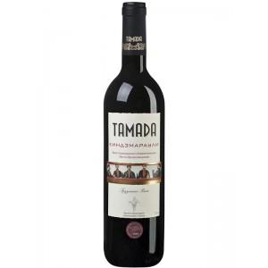 Вино Грузии Tamada Kindzmarauli / Тамада Kиндзмараули, Кр, П/Сл, 0.75 л [4860004070043]